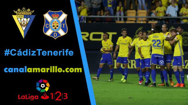 Un paso para el play off, el Cádiz CF quiere más ante el Tenerife