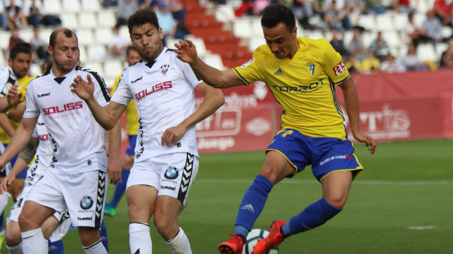 Álvaro García pidió el cambio en Albacete.