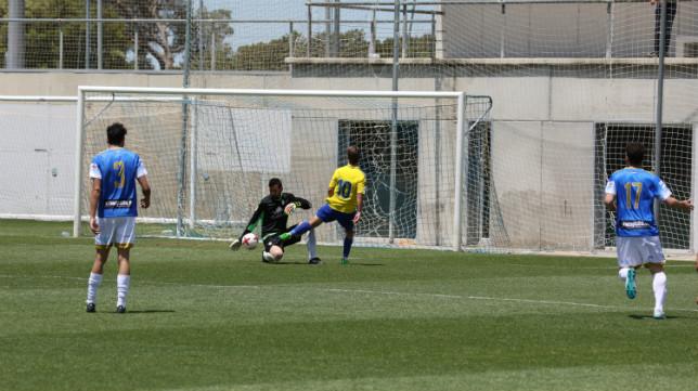 El Cádiz CF B ha jugado sus partidos como local en El Rosal.