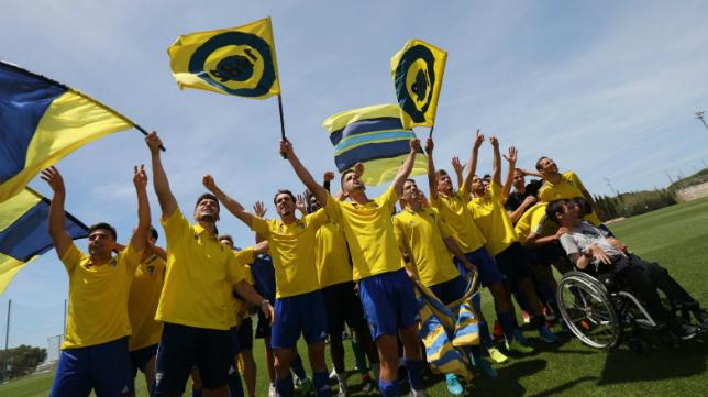 El Cádiz CF B, campeón del Grupo X de Tercera,