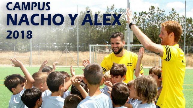 Los hermanos Álex y Nacho Fernández volverán a compartir campus este verano.