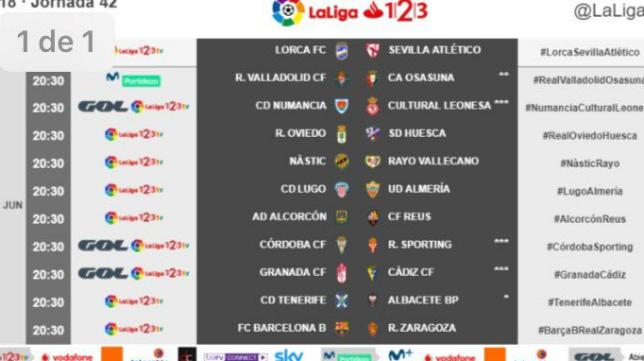Gol dará el partido del Cádiz CF este sábado.