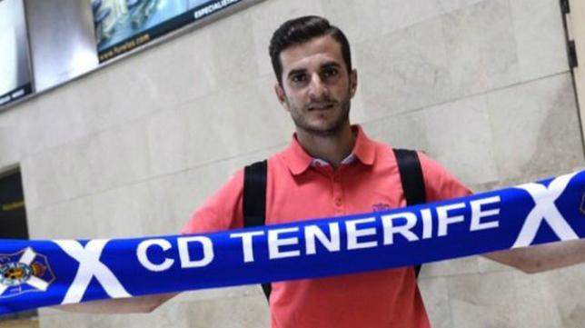 Juan Villar, a su llegada al CD Tenerife. Foto: Canarias Ahora.