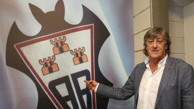 Quique Martín, entrenador del Albacete.
