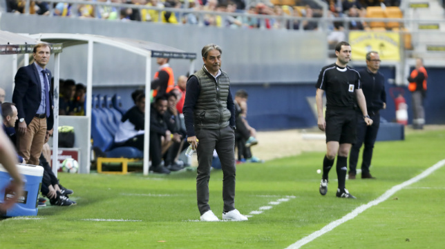 Natxo González, entrenador del Deportivo