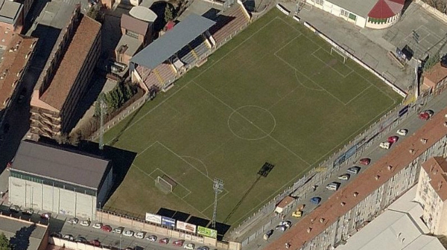 Pinilla, estadio del CD Teruel.