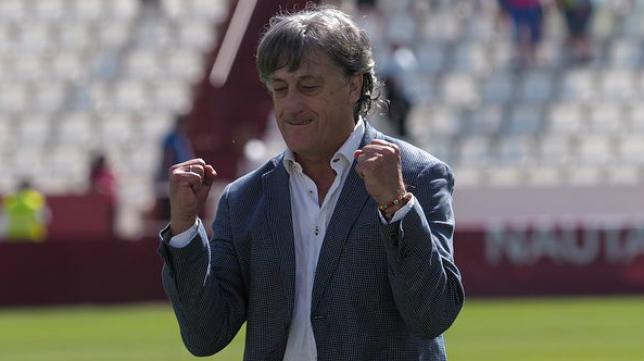 Quique Martín llegó al banquillo del Albacete a mitad de temporada.