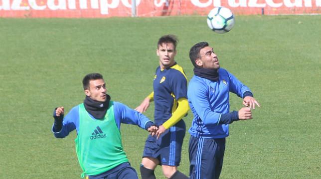 Alvarito y Romera tendrán la misión de hacer gol ante el Tenerife.
