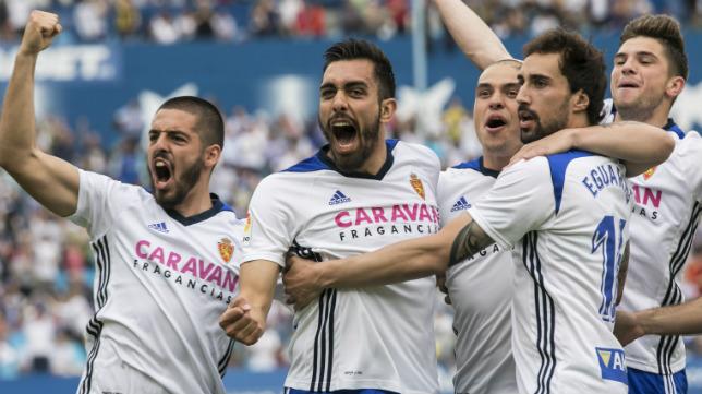 El Zaragoza quiere subir a Primera.