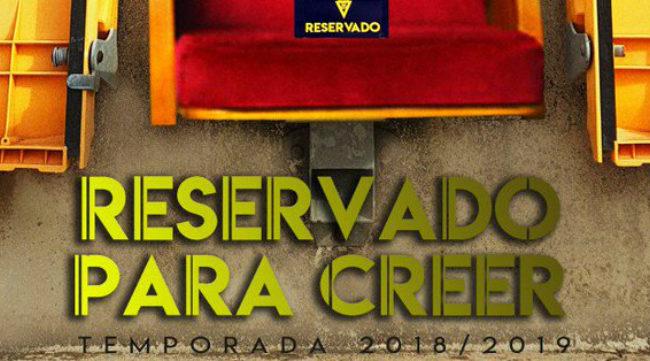 Slogan de la campaña de abonados del Cádiz CF