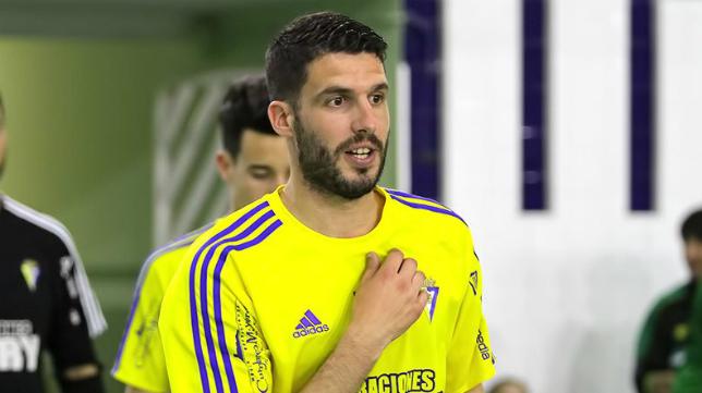 Álex González, jugador fallecido del Cádiz CF Virgili. Foto: Cádiz CF Virgili.