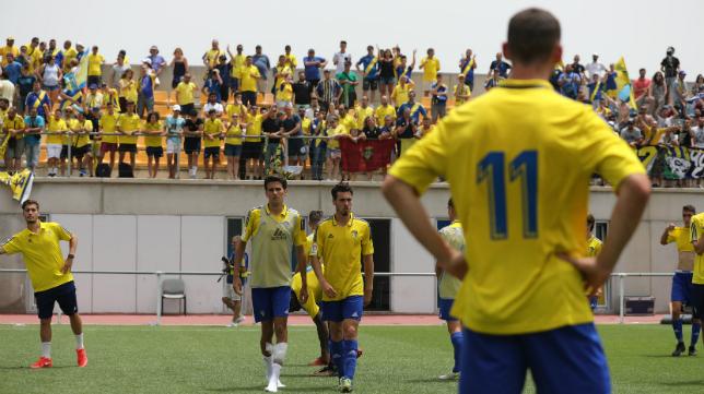 El Rosal se llenó con motivo del Cádiz CF B-SD Ejea.