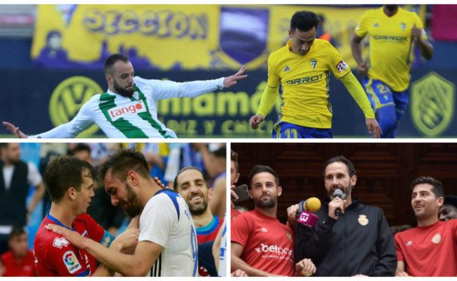Cádiz, Córdoba y Zaragozan continúan en Segunda, mientras que el Mallorca regresa de nuevo.