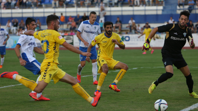 Cádiz CF y Marbella se vieron las caras por última vez en Segunda B.