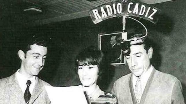 Carmen Coya fue una de las voces más conocidas de la radio gaditana.