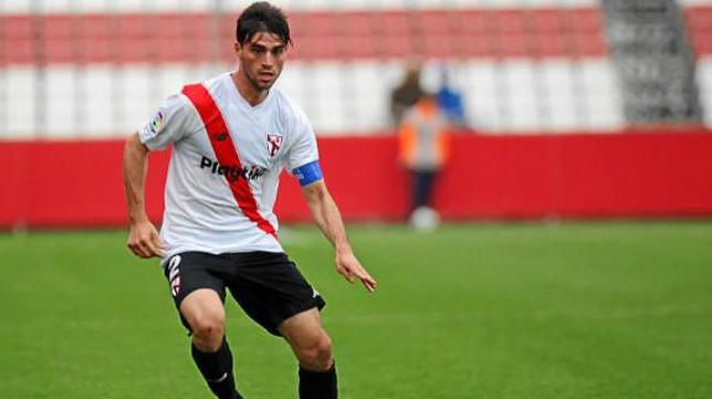 David Carmona, nuevo jugador del Cádiz CF.