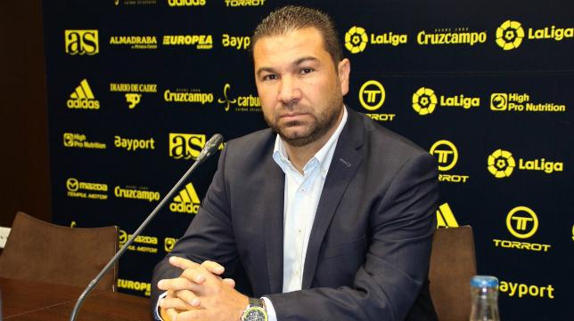 Juan Carlos Cordero, esa ya exdirector deportivo del Cádiz CF