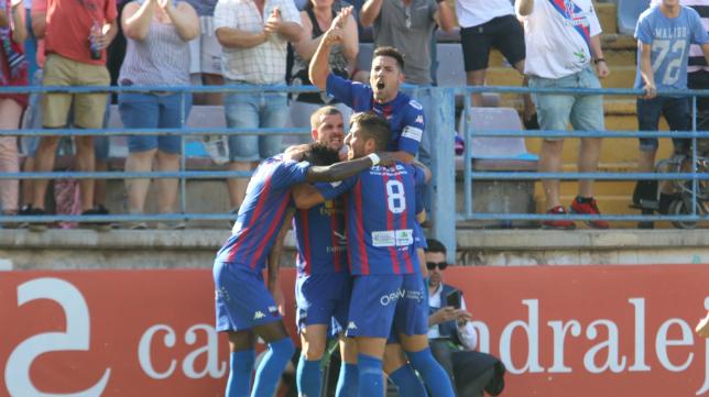 El Extremadura ha subido a Segunda División.