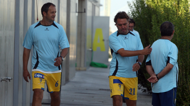 Risto Vidakovic y Pepe Losada.