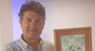 Manolo Botubot, nuevo presidente de los Veteranos del Cádiz CF.