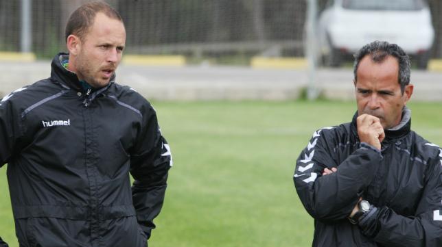 Rubén Domínguez compartió banquillo ese año con Claudio y Cervera.