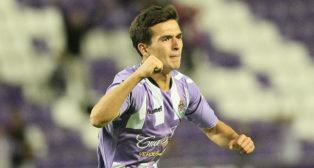 Cotán marcó un gol con el Valladolid en Copa.