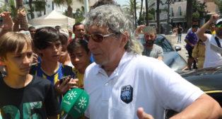 Mágico González en Cádiz