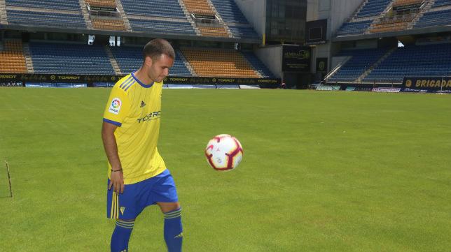 Aketxe vive su  segunda etapa en el Cádiz CF.
