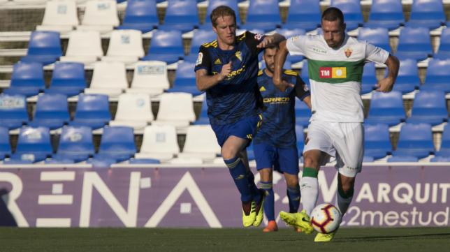 Cádiz CF y Elche ya se vieron las caras en verano durante un encuentro amistoso.