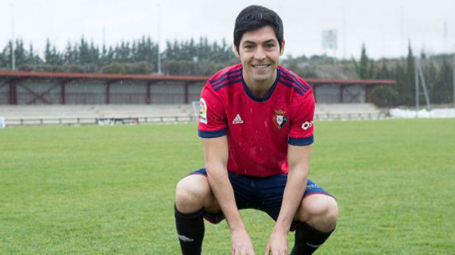 Borja Lasso ha jugado este año en el Osasuna.