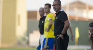El técnico Álvaro Cervera.