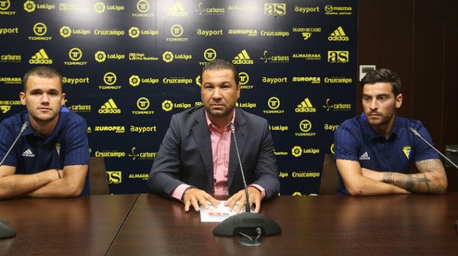 Juan Carlos Cordero en una rueda de prensa.