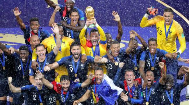Francia celebra su segundo Mundial tras ganar a Croacia en la final