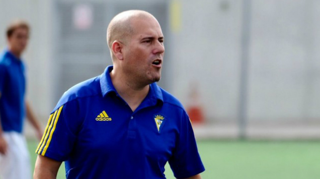 Francisco Lozano, entrenador del Juvenil C.