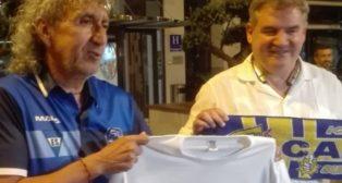 Mágico González y Manuel Vizcaíno