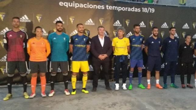 Equipaciones del Cádiz CF para esta temporada