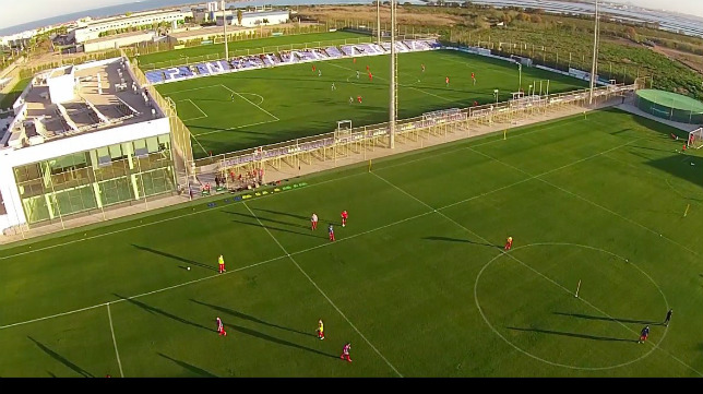 Instalaciones donde el Cádiz CF hará la pretemporada.