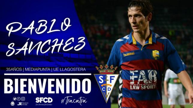 Pablo Sánchez jugará esta temporada cerca de su tierra natal.