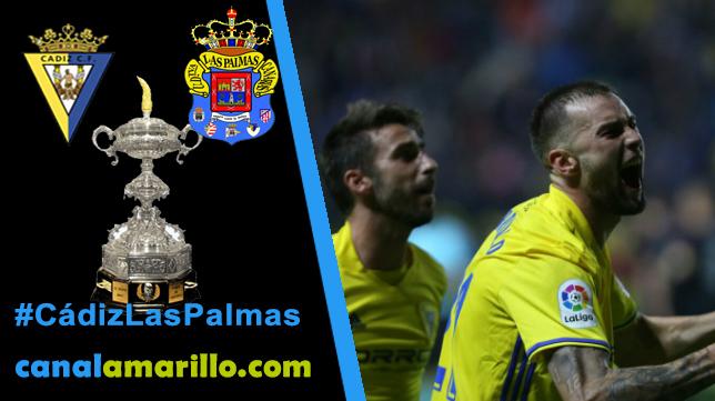 El Cádiz se estrena ante Las Palmas en el Trofeo Carranza