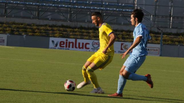 El filial cadista debutó con derrota en Lucena. Foto: Cádiz CF.