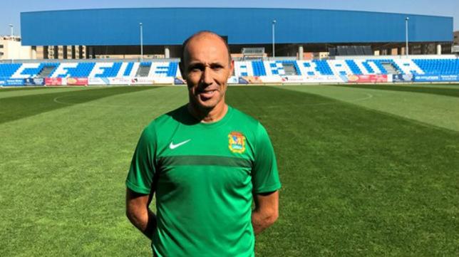 Antonio Calderón entrenará en Egipto este año.