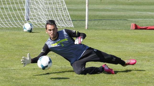 Cristian Arcos, nuevo guardameta del Cádiz CF. Foto: Ideal.