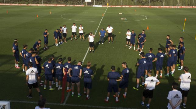 El Cádiz CF debuta este viernes ante la UD Almería.