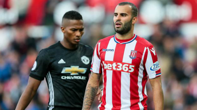 Jesé estuvo cedido la temporada pasada en el Stoke City.