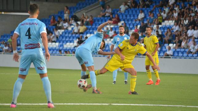 La intensidad fue la nota predominante en Lucena. Foto: Cádiz CF.
