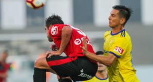 Mallorca y Cádiz CF se han visto las caras recientemente en La Línea.