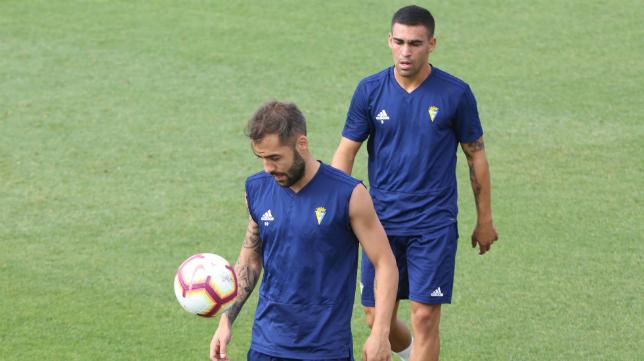 Perea y Dani Romera estuvieron ausentes en el entrenamiento.