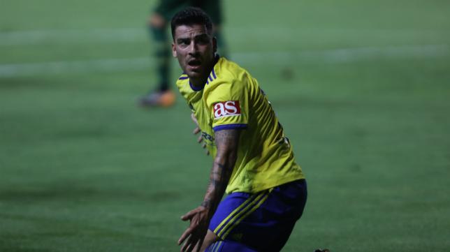 Salvador Agra ya no milita en el Cádiz CF.