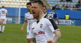 Acuña, jugador del Albacete.