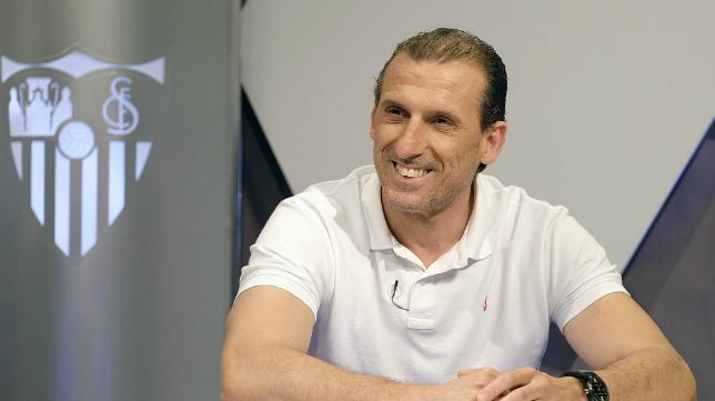Óscar Arias fue el director deportivo del Sevilla hace dos temporadas.